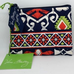 Vera Bradley Coin Card Purse, Sun Valley - NEW